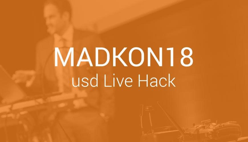 usd Live Hack beim MADKON18