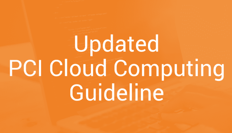 April 2018 – Updated PCI Cloud Computing Guideline