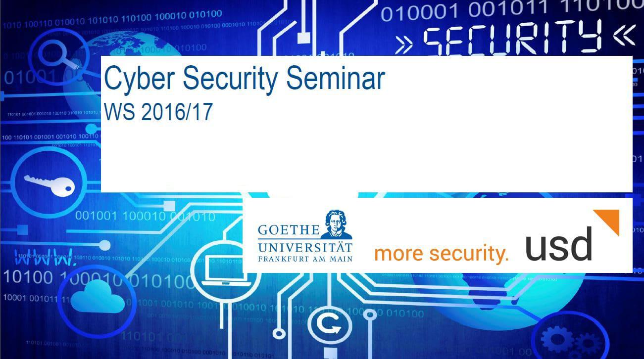 Goethe-Universität Frankfurt und usd AG veranstalten gemeinsames Cyber Security Seminar