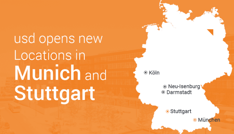 usd AG Opens New Locations in Stuttgart and Munich