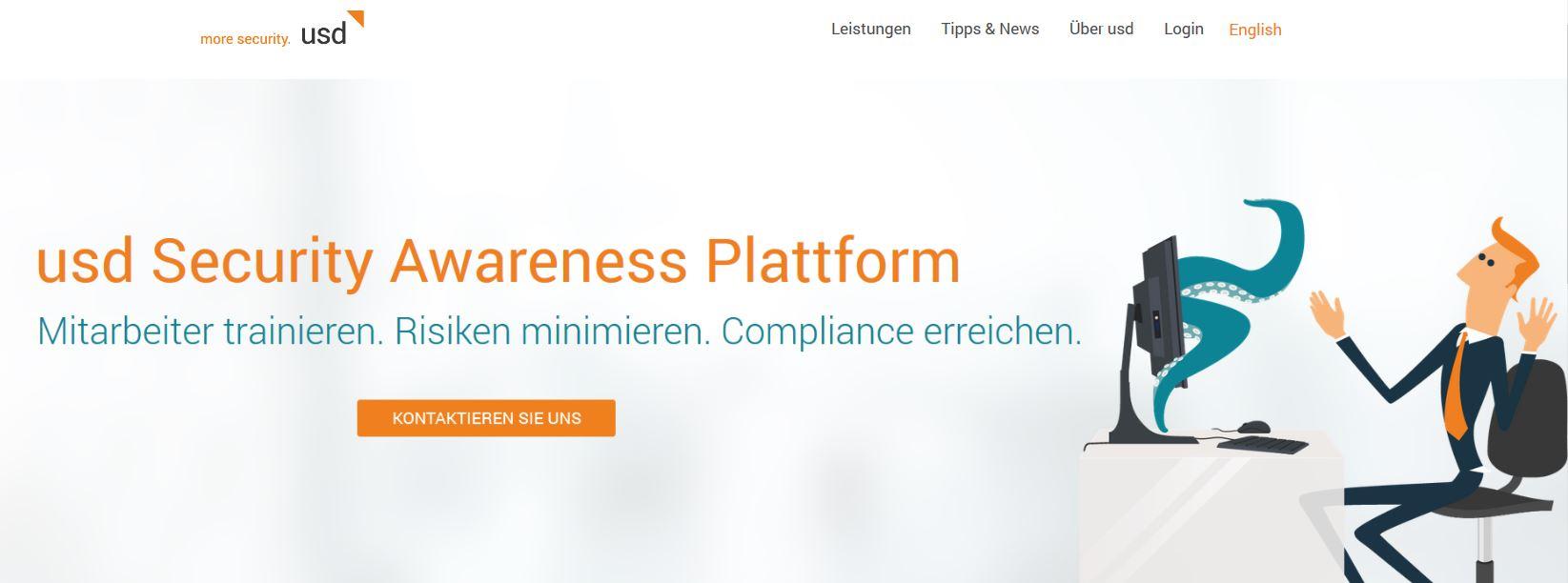 usd launcht neue Security Awareness Plattform