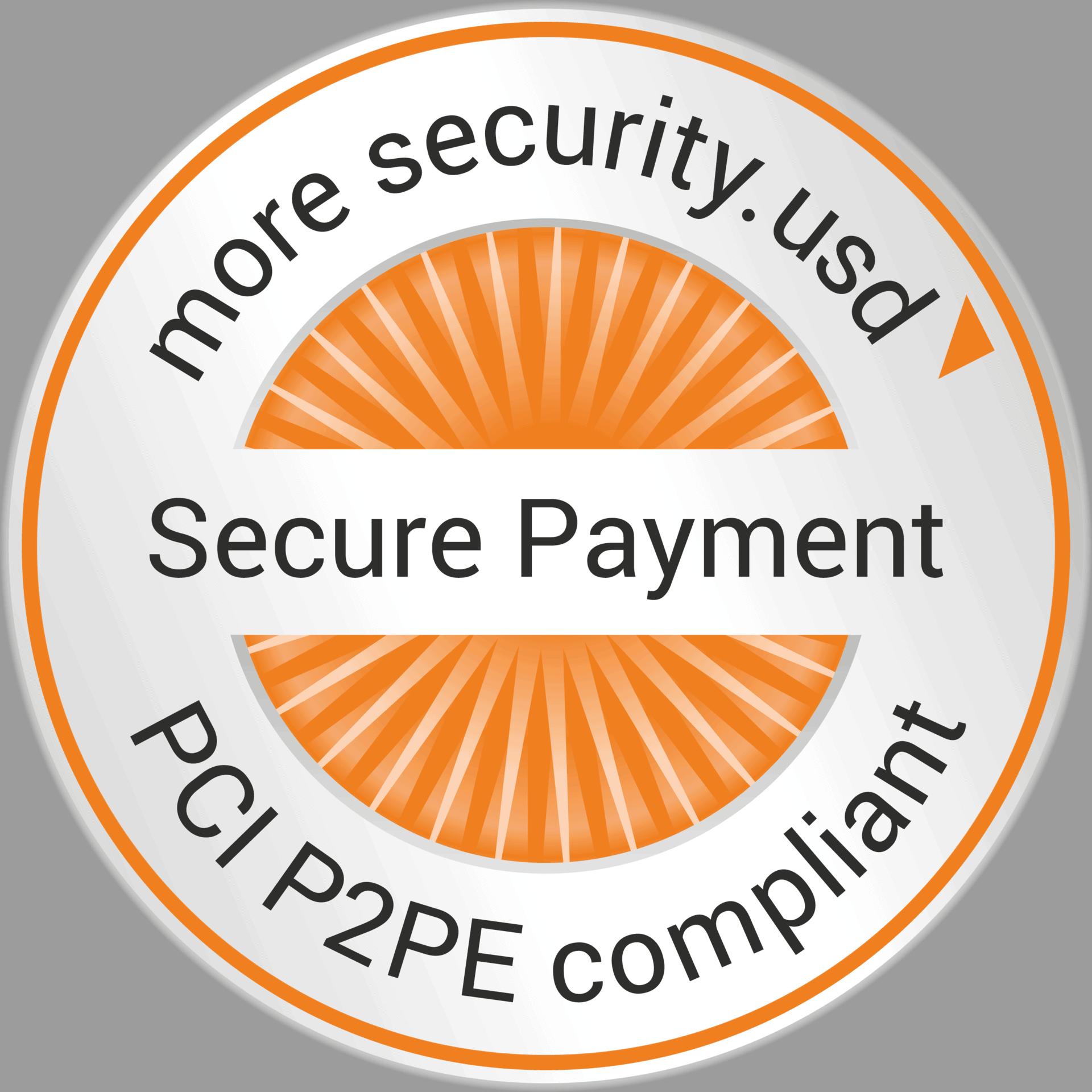 Siegel PCI P2PE compliant Secure Payment