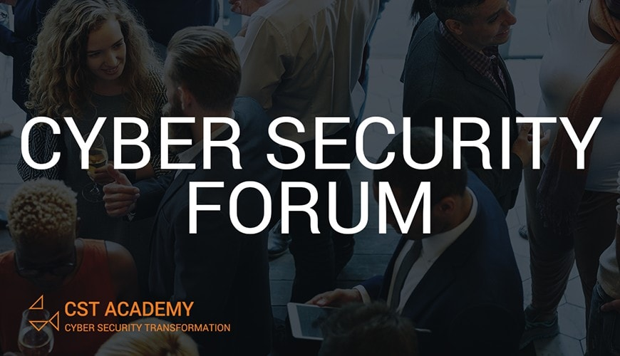 Cyber Security Foren im Oktober