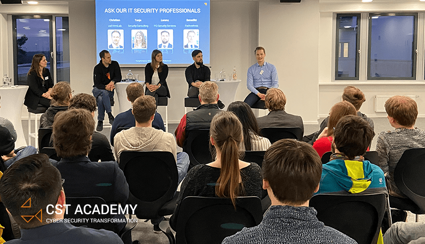 Young Connect @ CST: Studierende interviewten usd IT Security Professionals