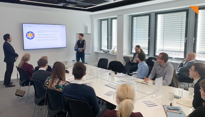 Joint Cyber Security Seminar with Goethe University Frankfurt
