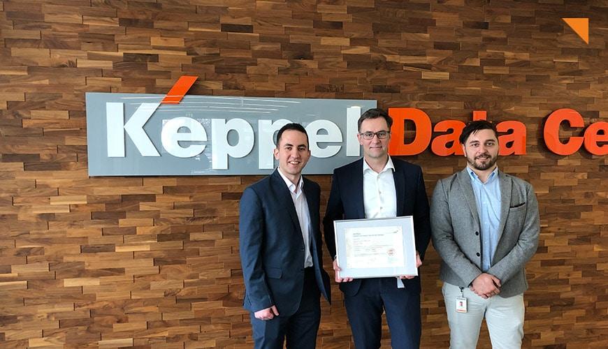 Keppel Data Centres in Frankfurt erhält PCI DSS Zertifizierung