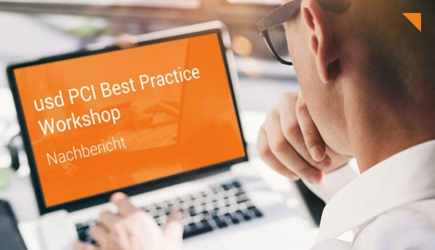 usd PCI Best Practice Workshop: PCI DSS 4.0 im Fokus