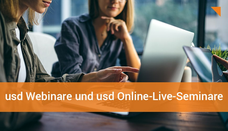 Einblicke in die Cyber Security: usd Webinare und usd Online-Live-Seminare