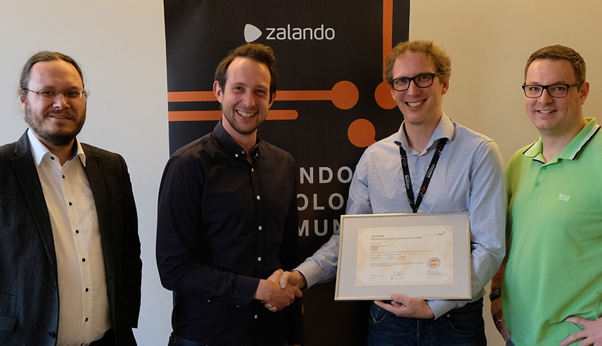 Zalando Payments GmbH and Zalando SE Successfully Certified for PCI DSS