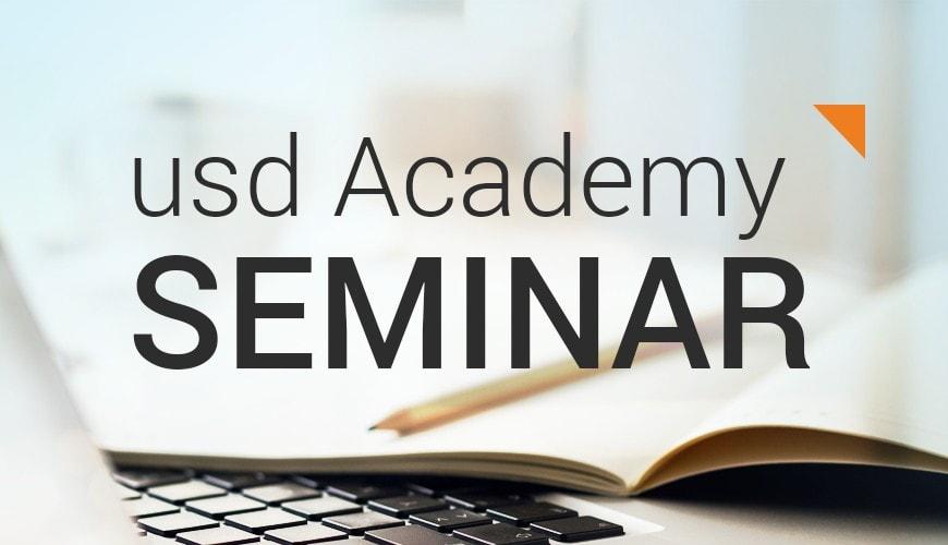 """Neues usd Academy Seminar: """"Biometrie – der Mensch als Schlüssel"""""""