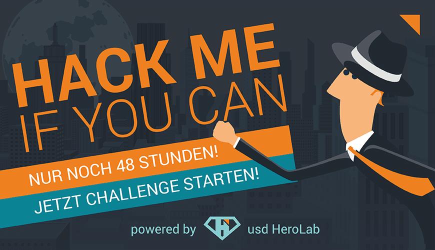 usd Hackertage 2019 – Die Challenge endet am 05. Mai!