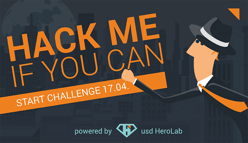 usd Hackertage 2019 – Die Challenge ist jetzt freigeschaltet!