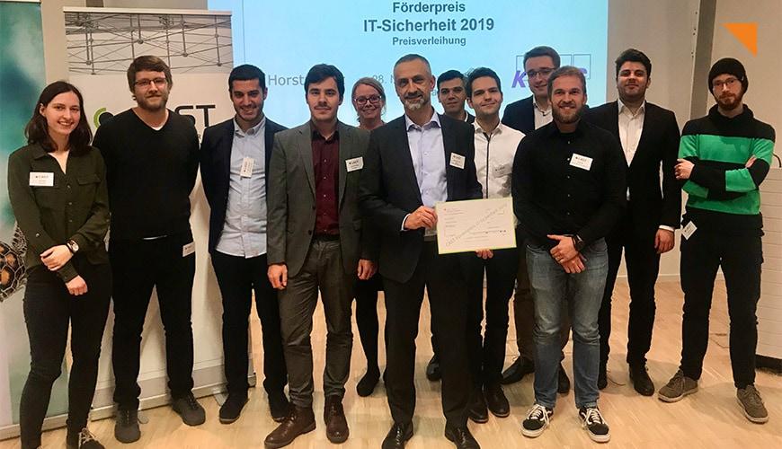 usd Werkstudent erhält CAST-Förderpreis IT-Sicherheit 2019