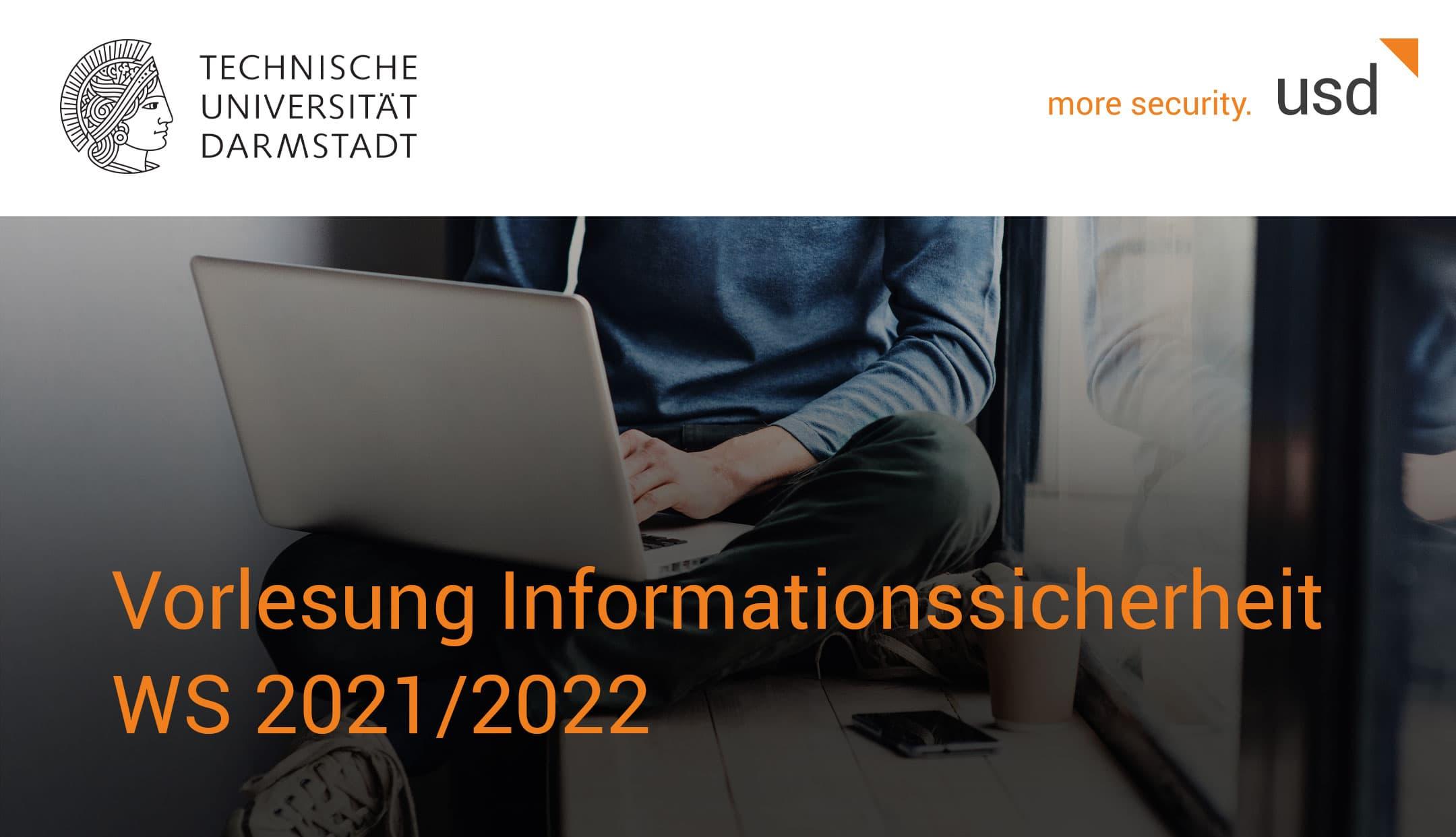 Lehrkooperation der TU Darmstadt und usd AG zum Thema Informationssicherheit